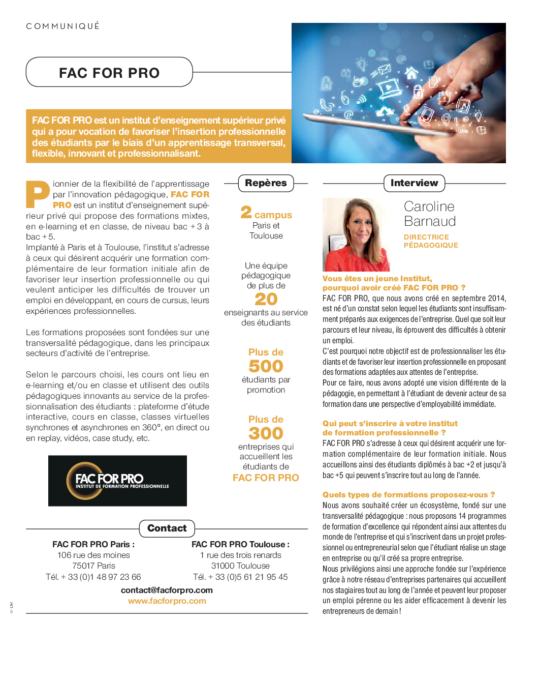 guide entreprise facforpro 2