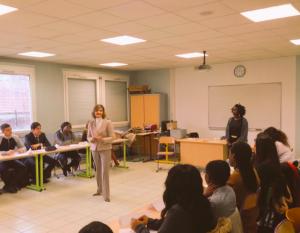 femmes entrepreneurs à l'école